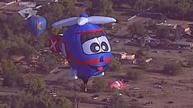 Hot air balloons color New Mexico sky