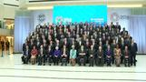 G20 poses for class photo