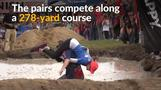 Maine couple win U.S. wife-carrying competition
