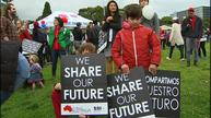 Thousands march for refugee rights in Sydney
