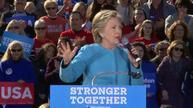 Clinton calls Trump statements