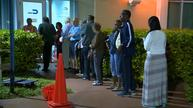 Candidates target early voters in U.S. presidential election