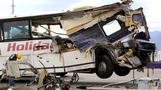 Investigators examine surveillance video for clues to California bus crash