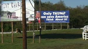Conservative counties in U.S. swing states put faith in Trump