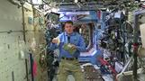 Astronauts prepare for Thanksgiving space food 'feast'