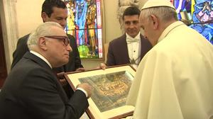 Scorsese meets the Pope in Vatican City