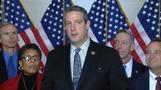 Pelosi holds onto leadership post, defeating Tim Ryan