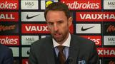 New England manager Gareth Southgate discusses his appointment on a four-year contract
