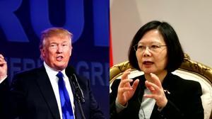 China labels Trump call