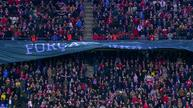 Atletico Madrid and Espanyol remember victims of Colombian air crash