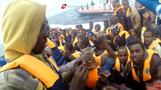 Italy's coast guard rescues some 500 migrants, recovers one body
