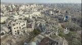 Drone footage of Aleppo's Old City, now under Syrian army control