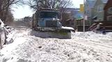 Winter storm snarls traffic across upper U.S.
