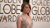 Stars shimmer on the Golden Globes red carpet