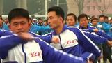 北朝鮮で体育の日、首都では政府職員らがランニング(9日)