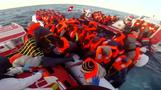 Some 800 boat migrants rescued during break in weather - Italian coastguard