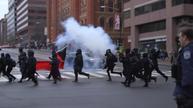 Violence flares in Washington during Trump inauguration