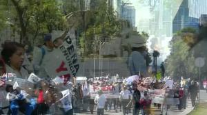 Mexicans protest gas price hikes