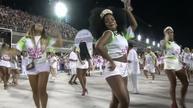 Dancers prepare to party in Brazil