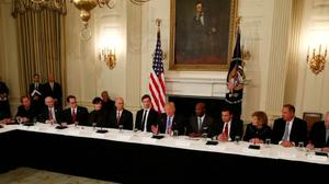 Trump tells CEOs he plans to bring back millions of jobs