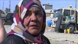「息子の妻は吹き飛ばされた」モスル市民の危険な脱出(字幕・26日)