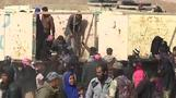 Civilians flee fighting in western Mosul