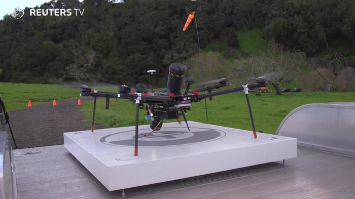 A drone built to hunt down other drones