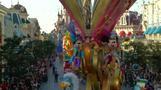 ディズニーランド・パリ開園から25年、記念のパレード(26日)