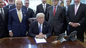 Trump to officially scrap climate change rules