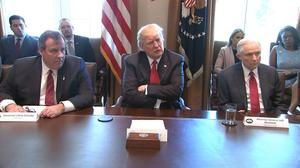Trump hears stories from opioid crisis
