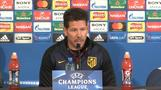 Small details will decide second leg, Atletico coach Simeone says