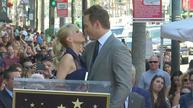Family affair as Chris Pratt gets star