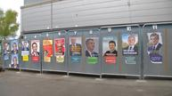 Candidates vote in French election