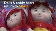 Dolls, teddy bears return to eastern Mosul after Islamic State