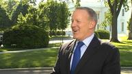 Spicer says his job is 'not a quiet existence'