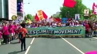 Climate protesters march through Washington