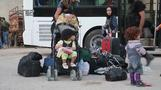 Thousands of Syrians evacuated from Damascus district