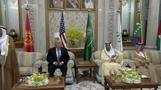 President Trump meets GCC leaders