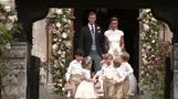 キャサリン英妃の妹ピッパさんが挙式、ロンドン郊外の教会(20日)