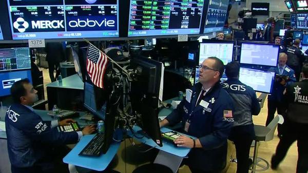 Financials push Wall Street higher