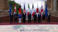 G7 leaders meet in Sicily ahead of talks