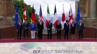 G7 summit braces for clash on trade, climate