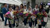 Afghan female robotics team finally arrives in U.S.