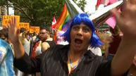 Thousands flood Berlin streets for Christopher Street Day