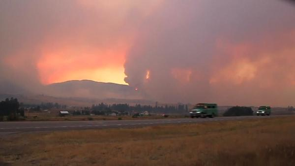 Lolo Peak fire in Montana scorches over 30,000 acres