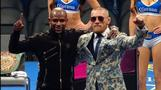 McGregor gives Mayweather 'much respect' post-fight