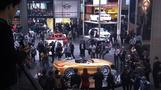 Electric sparks action from carmakers at Autoshow