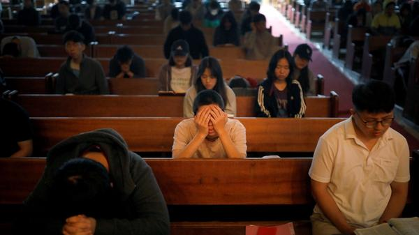 Threats of war drive some South Koreans to faith