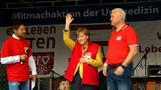 Merkel resuscitates doll before Germany votes