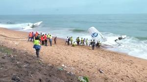 French army charter plane crashes in Ivory Coast, killing four